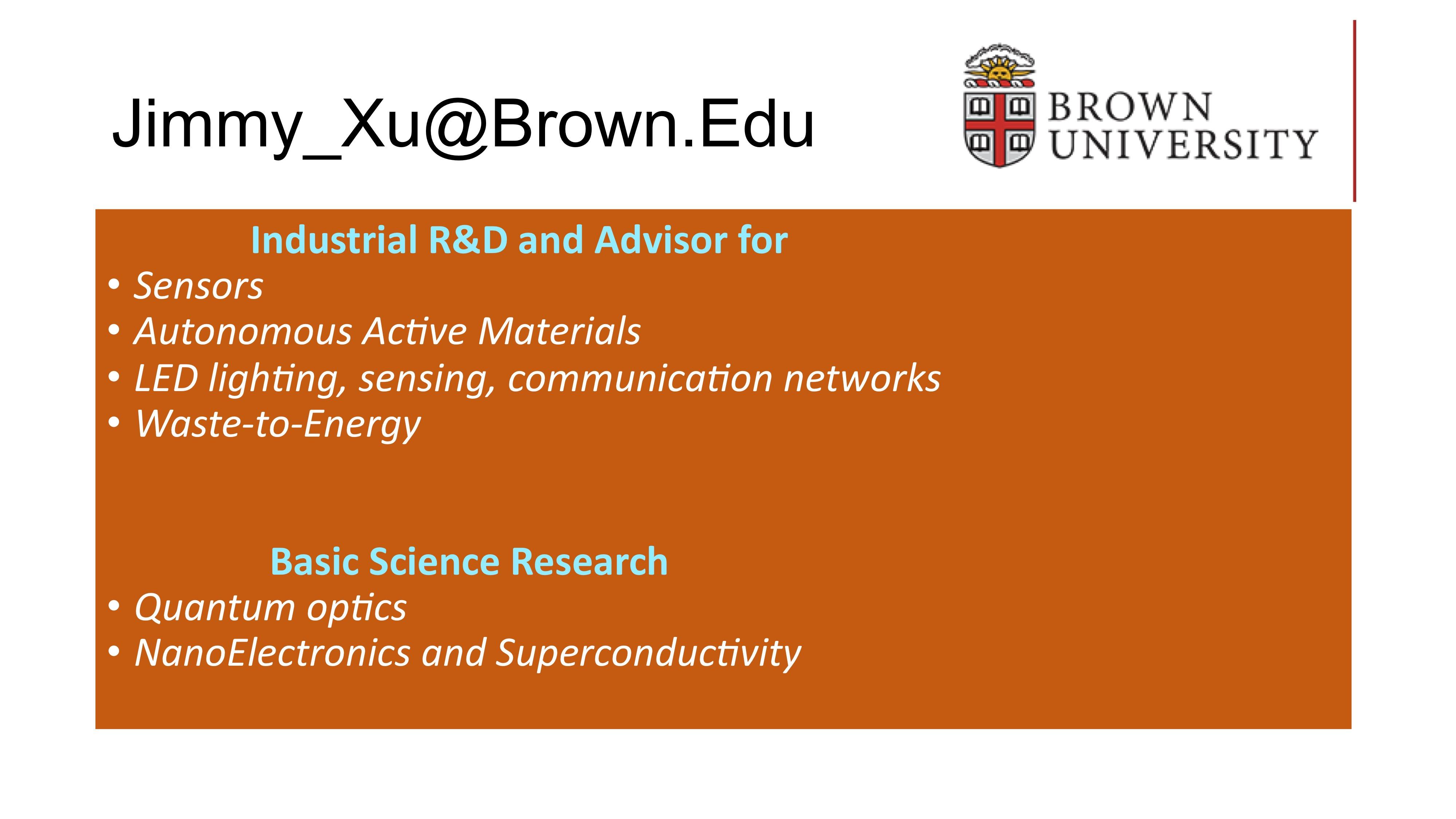 Brown senior thesis prize